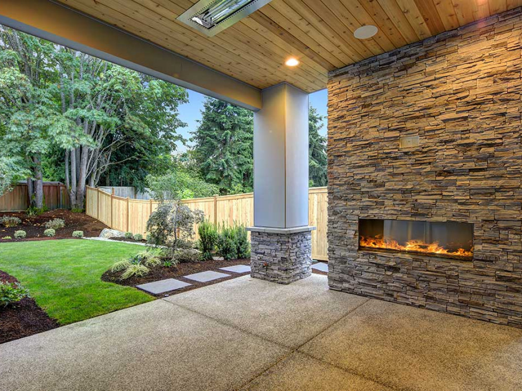 Add custom stone features to your yard