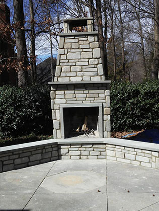 stonework services in  concord nc
